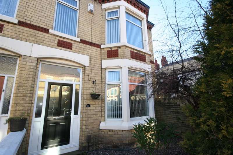 3 Bedrooms End Of Terrace House for sale in York Avenue, Wallasey, CH44 9ER