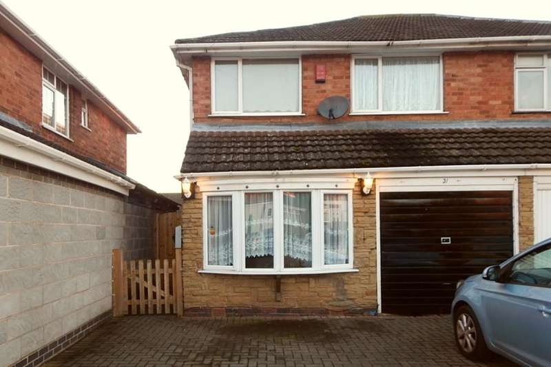 3 Bedrooms Semi Detached House for sale in The Hayes, Longbridge, Birmingham, B31