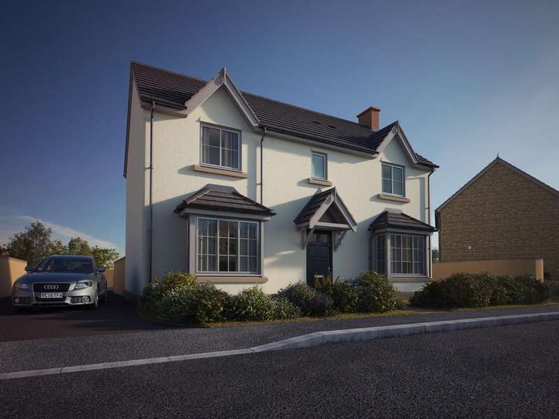 4 Bedrooms Detached House for sale in Exciting new development in Congresbury