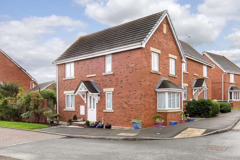 3 Bedrooms Semi Detached House for sale in Monck Drive, Nantwich