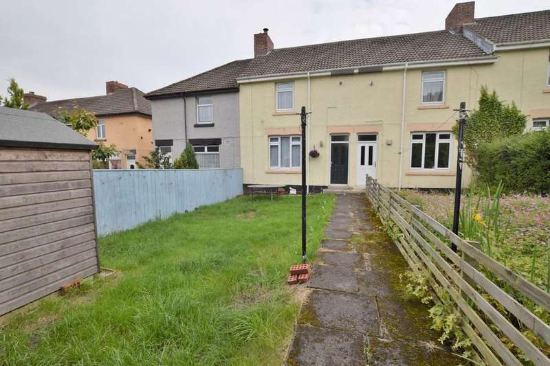 2 Bedrooms Terraced House for sale in Woodlands Terrace, Dipton, Stanley