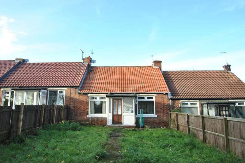 2 Bedrooms Terraced Bungalow for sale in Dalton Avenue, Seaham, Co. Durham, SR7