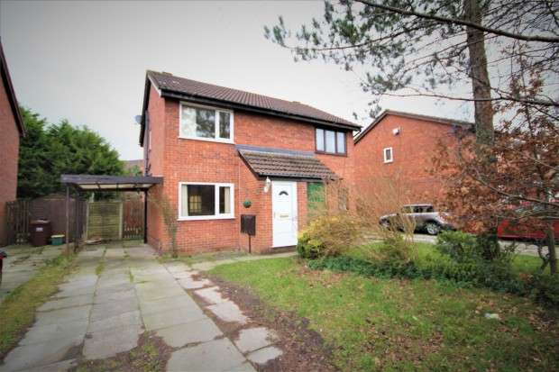 2 Bedrooms Semi Detached House for sale in Marsh Way, Penwortham, Preston, PR1