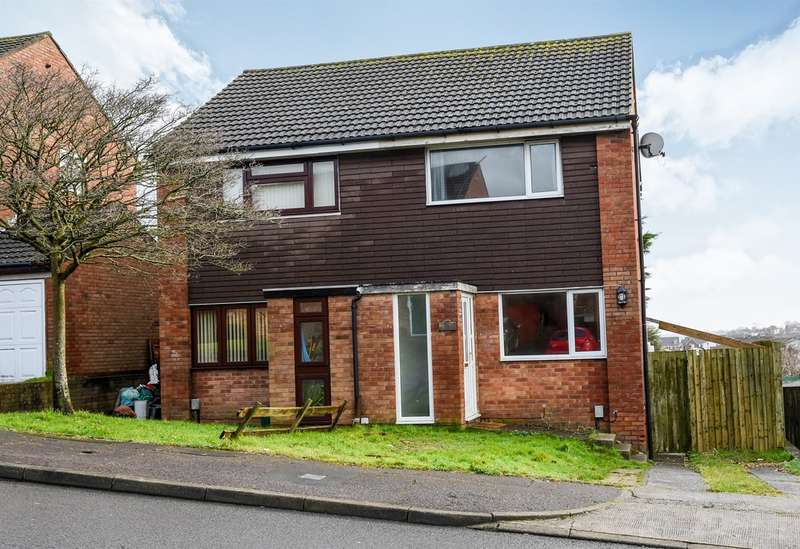 2 Bedrooms Semi Detached House for sale in Lydstep Road, Barry
