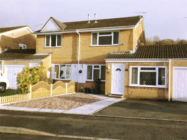 2 Bedrooms Semi Detached House for sale in Gwaun Afan, Cwmavon, Port Talbot, West Glamorgan