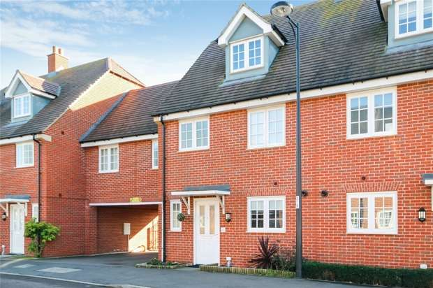 4 Bedrooms Terraced House for sale in Brooklands Avenue, Wixams, Bedford