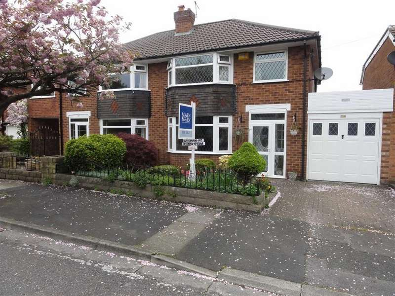 3 Bedrooms Semi Detached House for sale in Westwood Road, Heald Green