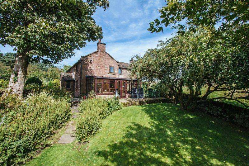 5 Bedrooms Cottage House for sale in Upper Hulme, Nr Leek