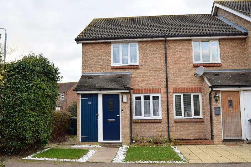2 Bedrooms End Of Terrace House for sale in Tickenhall Drive, Church Langley, Harlow, Essex, CM17 9PP