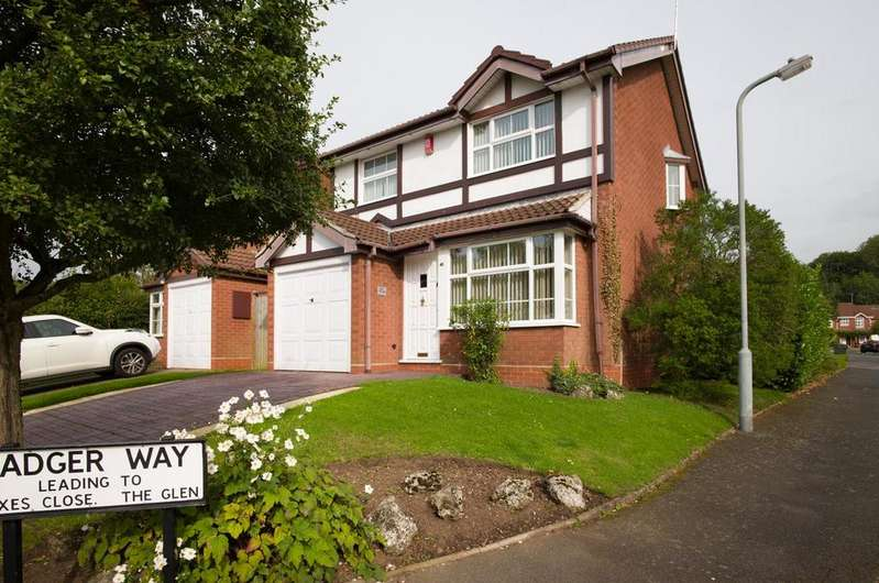 3 Bedrooms Detached House for sale in Linthurst Newtown, Blackwell, Bromsgrove