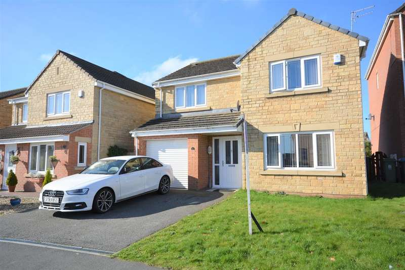 4 Bedrooms Detached House for sale in Ascot Way, St. Helen Auckland, Bishop Auckland, DL14 9AN