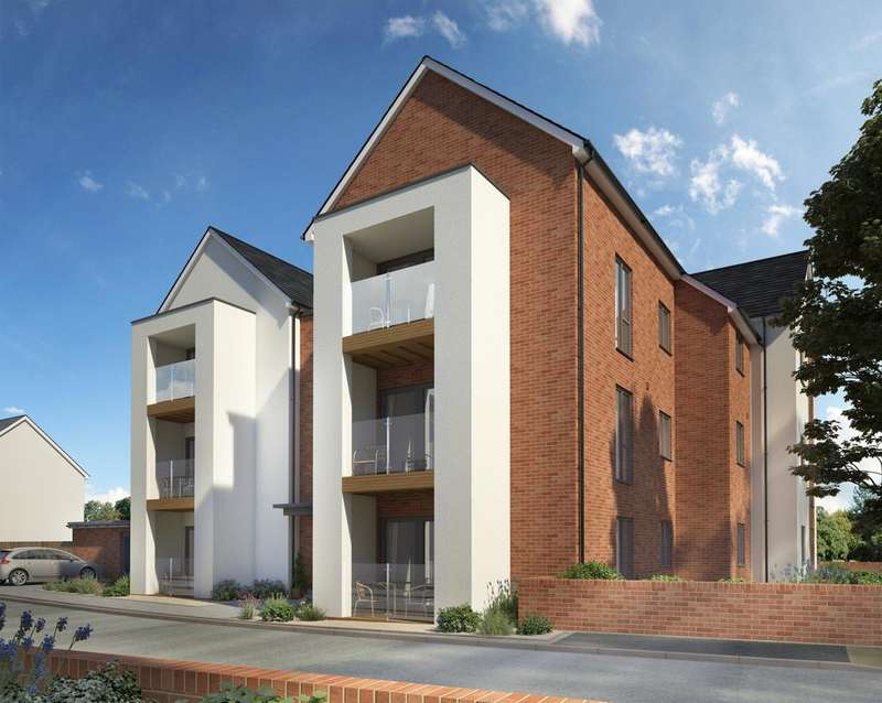 2 Bedrooms Apartment Flat for sale in Bakers Way, Pinhoe , Exeter