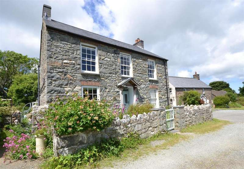 4 Bedrooms Detached House for sale in Caerfarchell, Solva