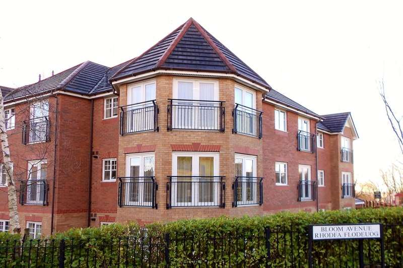 2 Bedrooms Flat for sale in Ingot Close, Brymbo, Wrexham, LL11