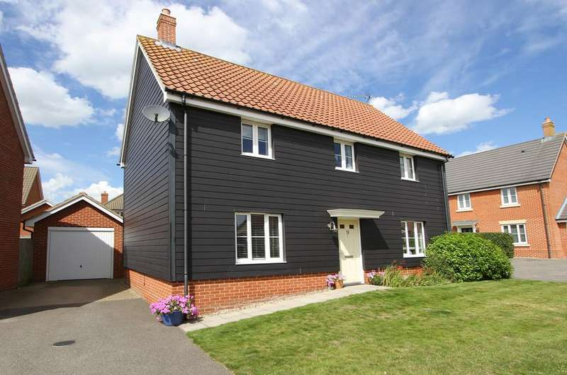 4 Bedrooms Detached House for sale in Raven Croft, Cringleford