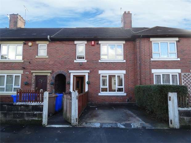 2 Bedrooms Terraced House for sale in Shelley Road, Stoke-on-Trent, Staffordshire