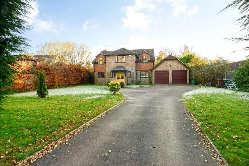 5 Bedrooms Detached House for sale in Longmoor Road, Liphook, Hampshire, GU30