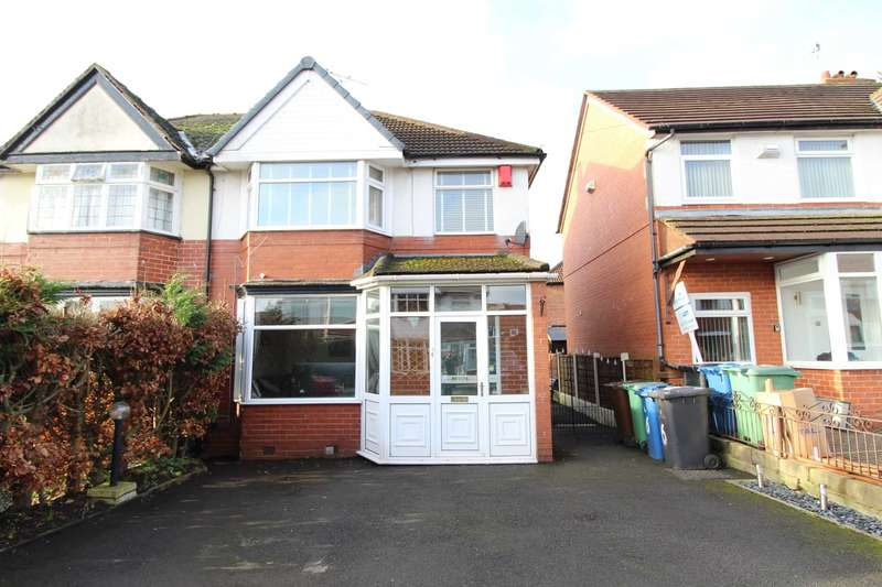 3 Bedrooms Semi Detached House for sale in Lynton Drive, Prestwich