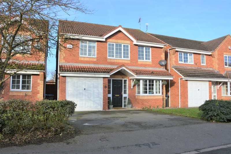 4 Bedrooms Detached House for sale in Clement Way, Cawston