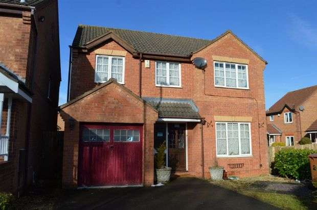 4 Bedrooms Detached House for sale in Farmhill Road, Southfields, Northampton NN3 5NU