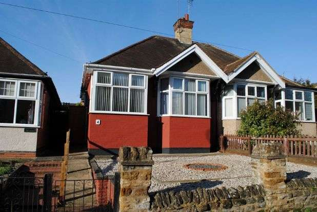 2 Bedrooms Semi Detached Bungalow for sale in The Green, Kingsthorpe Village, Northampton NN2 6QD