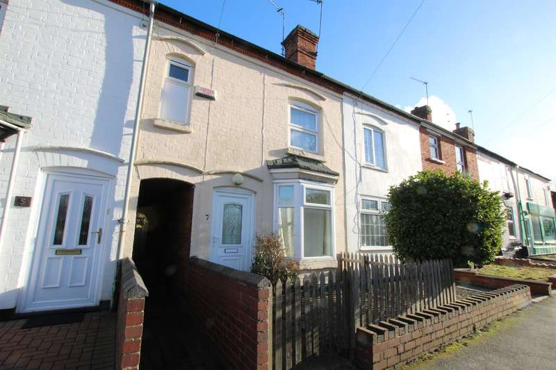 2 Bedrooms Terraced House for sale in Evesham Road, Redditch, B97 4JU