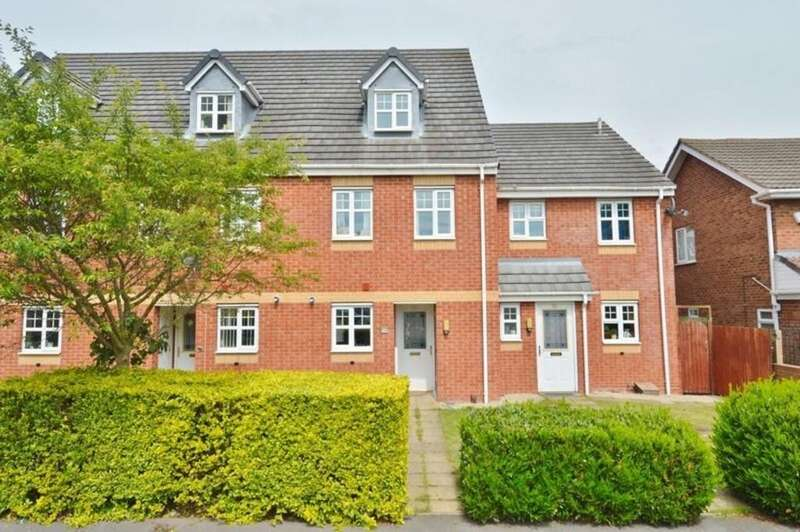3 Bedrooms Terraced House for sale in Springfield Road, Rugeley