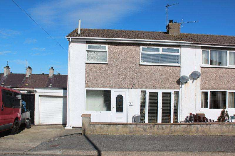 3 Bedrooms Semi Detached House for sale in Penllech Nest, Holyhead