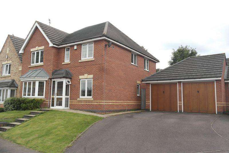 4 Bedrooms Detached House for sale in Hawley Close, Walsall