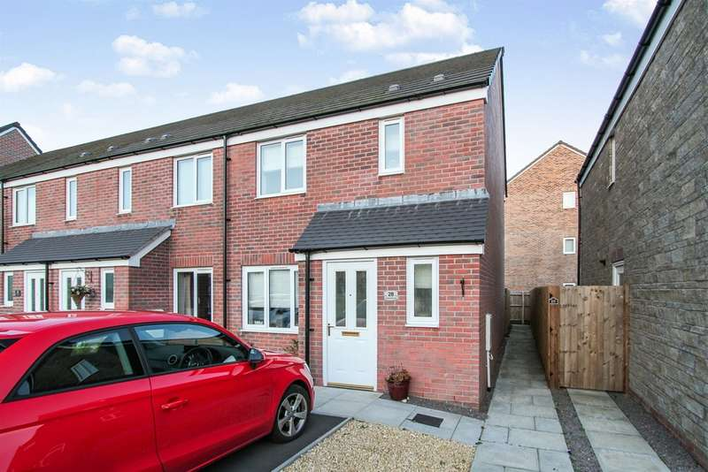 3 Bedrooms End Of Terrace House for sale in Steeplechase Road, Duffryn, Newport
