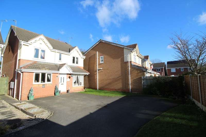 4 Bedrooms Detached House for sale in Beechcroft, Bedworth, CV12