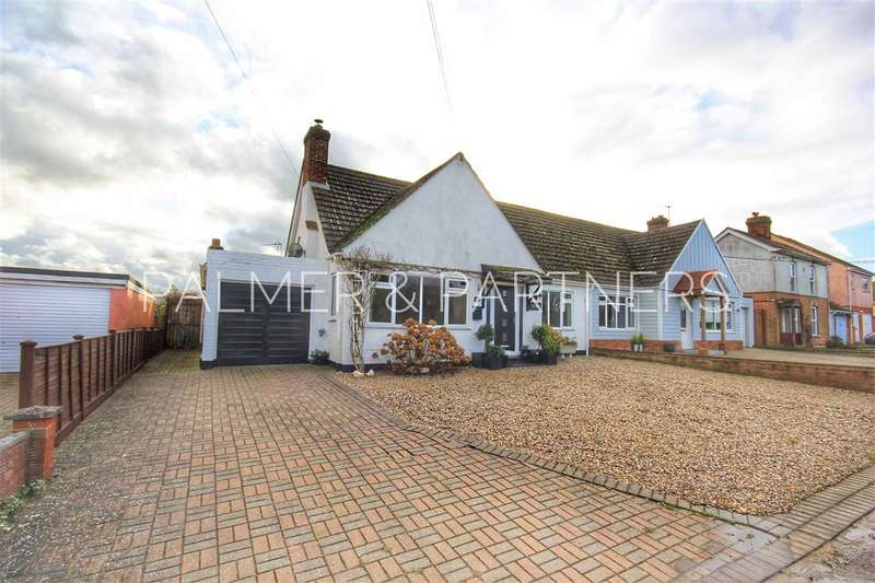 3 Bedrooms Semi Detached Bungalow for sale in Angel Lane, Glemsford