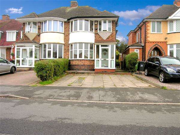 3 Bedrooms Semi Detached House for sale in Ennersdale Road, Coleshill