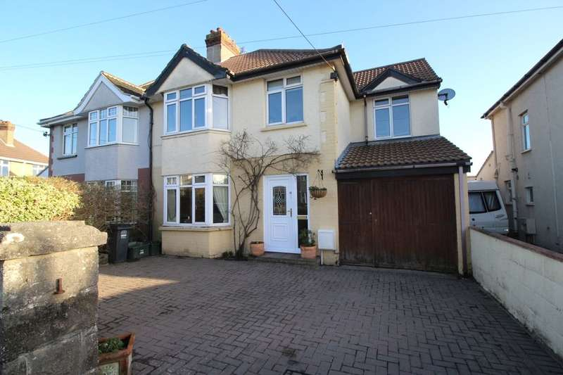 4 Bedrooms Semi Detached House for sale in Coleridge Vale Road North, Clevedon, BS21