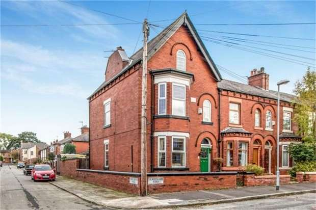 4 Bedrooms End Of Terrace House for sale in Derbyshire Road, Manchester