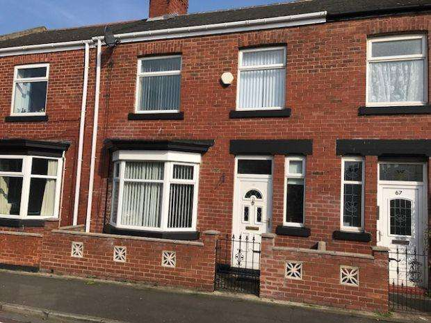 3 Bedrooms Terraced House for sale in COLCHESTER TERRACE, HIGH BARNES, SUNDERLAND SOUTH