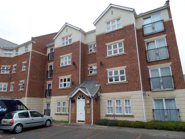 2 Bedrooms Flat for sale in EDWARD HOUSE, ROYAL COURTS, SUNDERLAND SOUTH