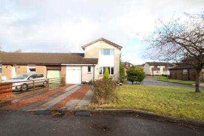2 Bedrooms Link Detached House for sale in Auchinleck Gardens, Glasgow, Lanarkshire