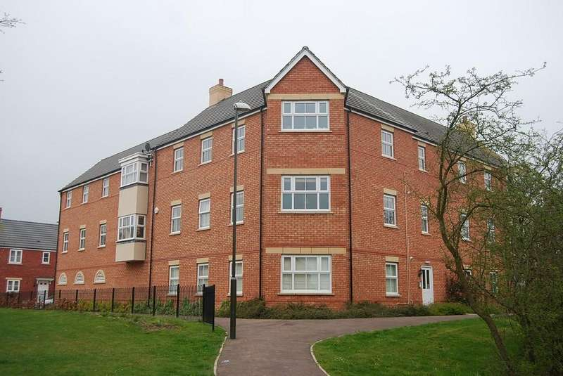 2 Bedrooms Apartment Flat for sale in Falcon Court, Tewkesbury