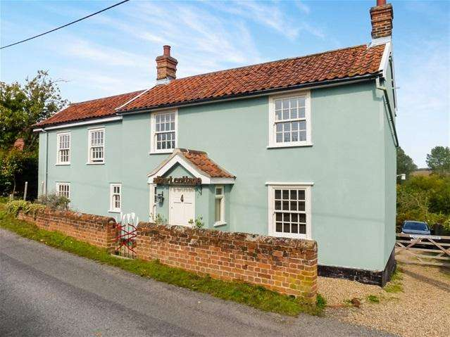 4 Bedrooms Detached House for sale in Low Road, Earl Soham, Woodbridge