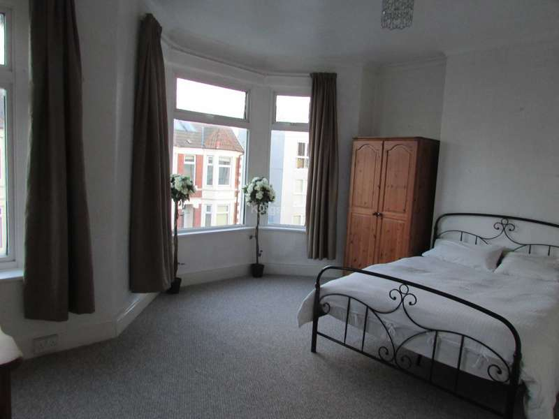 5 Bedrooms House for rent in Malefant Street, Cathays, CF24 4QB