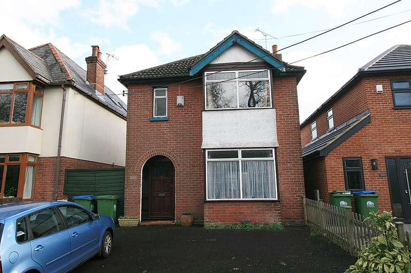 3 Bedrooms Detached House for sale in Weston Lane, Weston, Southampton, SO19 9HL