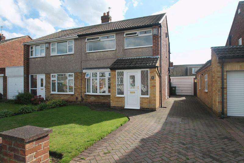 3 Bedrooms Semi Detached House for sale in Mainsforth Drive, Billingham