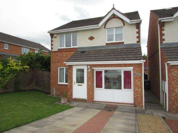 3 Bedrooms Detached House for sale in MEADOW GREEN, SPENNYMOOR, SPENNYMOOR DISTRICT