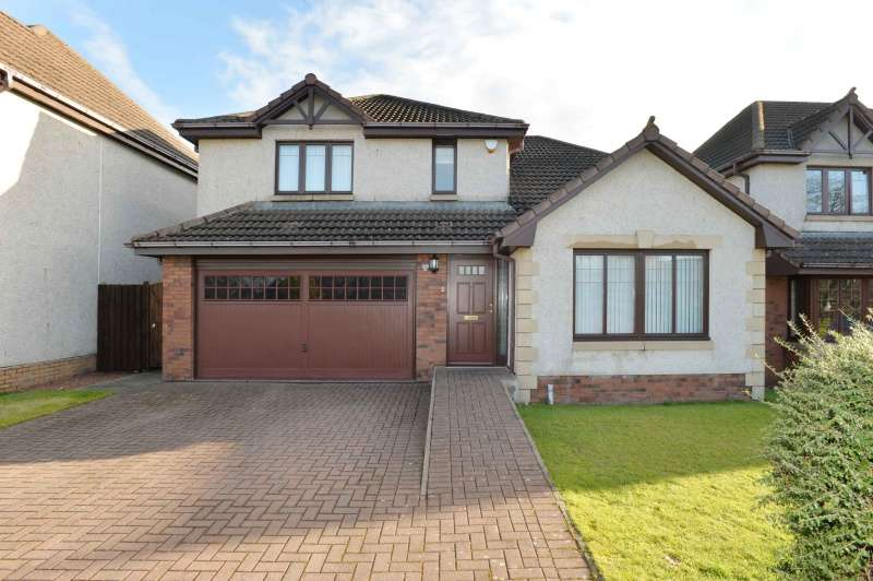 4 Bedrooms Detached House for sale in Inch Wood Avenue, Bathgate, West Lothian, EH48 2EF