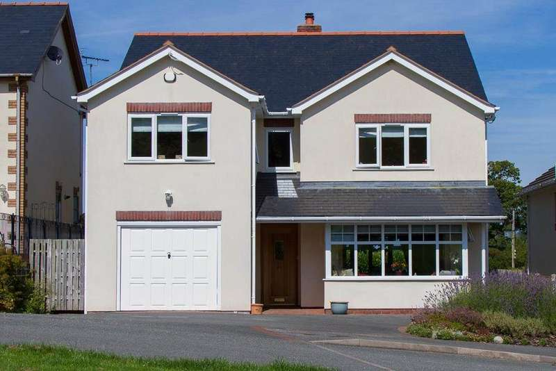 5 Bedrooms Detached House for sale in 4 Maes Yr Haf, Betws yn Rhos, LL22 8BZ