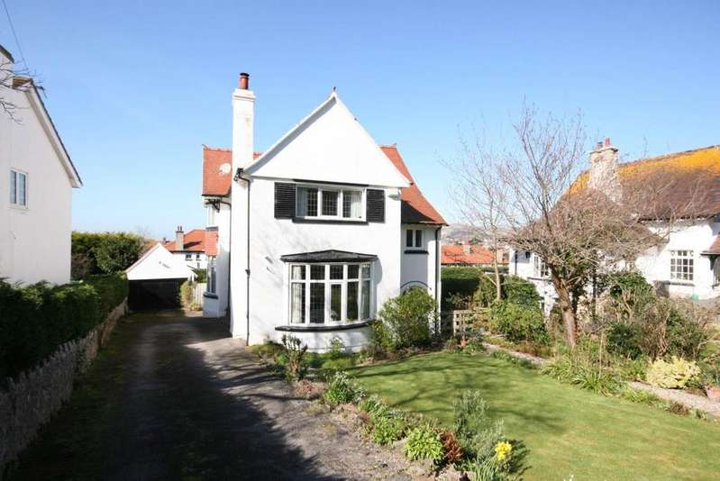 4 Bedrooms Detached House for sale in Roumania Crescent, Craig y Don, LL30 1UP