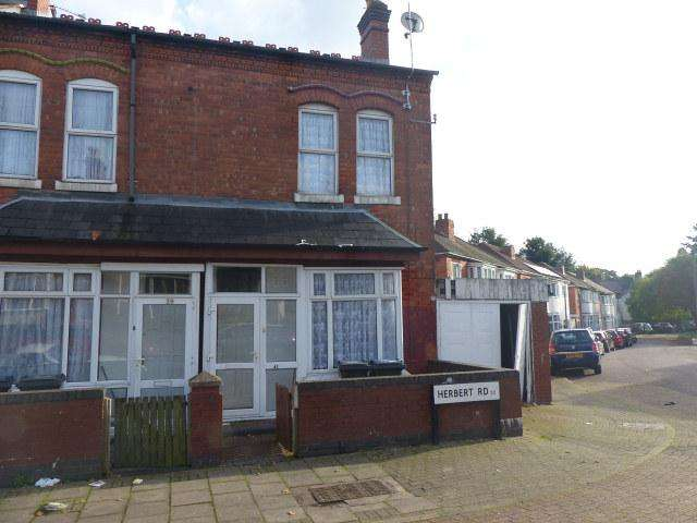 3 Bedrooms End Of Terrace House for sale in Herbert Road,Handsworth,Birmingham