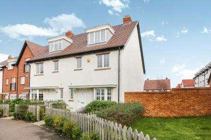 4 Bedrooms Semi Detached House for sale in Wissen Drive, Letchworth Garden City, Hertfordshire, England