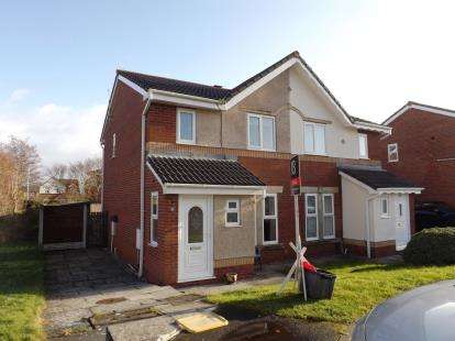 3 Bedrooms Semi Detached House for sale in Chester Close, Heaton With Oxcliffe, Morecambe, Lancashire, LA3